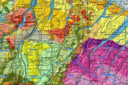 Geological cartography