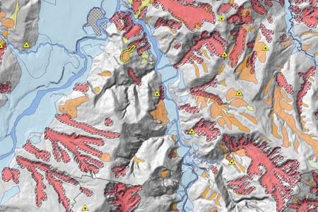 Landslides inventory maps