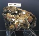 Pyrite and Hematite