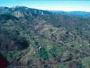 Appenninic landlslide shaped landscape