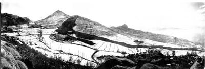 Landslide located in Vimignano (Bo)-January 1952