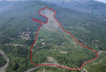 The Corniglio landslide