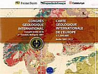 The First Geological Map Of Europe 1881 English
