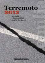 Earthquakes 2012 - book cover