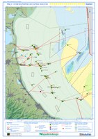 Map 2 –Undersea infrastructures and surface resources - Seabed
