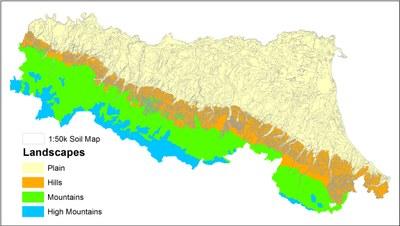 Soil map 1:50.000