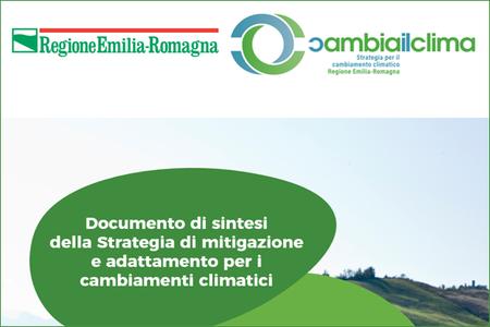 Documento di sintesi della strategia di mitigazione e adattamento per i cambiamenti climatici