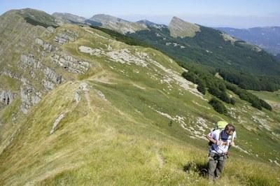 foto: Dal Passo di Badignana a Monte Matto (Autore Nevio Agostini)
