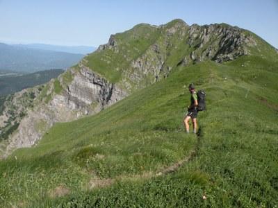 foto: Verso il Monte Aquila (Autore Antonella Lizzani)
