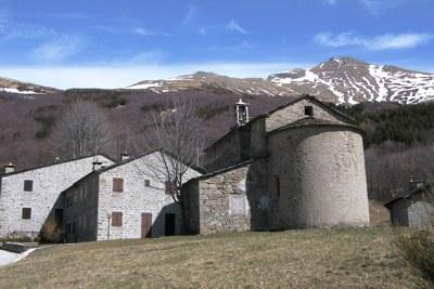 foto: Borgata di Doccia (Fonte Achivio Parco Alto Appennino Modenese)