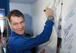 L'astronauta Palo Nespoli e l'inquinamento luminoso dell'Italia