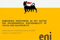 Fabio Casolini - Sessione speciale Risorse naturali e rischi nel Mediterraneo, 7° EUREGEO 2012
