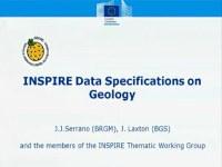 J. J. Serrano -  Sessione speciale INSPIRE / Spatial Data Infrastructures Workshop programme, 7° EUREGEO 2012