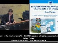 Robert Tomas - Sessione speciale INSPIRE / Spatial Data Infrastructures Workshop programme, 7° EUREGEO 2012