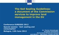 Thomas Strassburger - Sessione speciale Suolo: impermeabilizzazione e consumo, 7°EUREGEO 2012