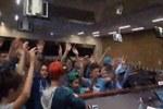 """Intervista ai ragazzi del Liceo """"Besta"""" di Bologna intervenuti con il flash mob"""