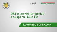Leonardo Donnaloia - DigitPA - DBT e servizi territoriali a supporto della PA