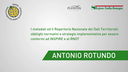 Antonio Rotundo - DigitPA - Metadati e Repertorio nazionale dati territoriali: obblighi normativi e strategie per conformità a INSPIRE e RNDT