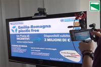 """Emilia-Romagna regione """"plastic free"""""""