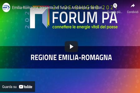 """Forum PA 2021: """"Ambiente e territorio a portata di click: verso un'informazione sempre più trasparente e digitale"""""""