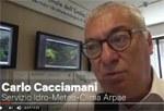 Intervista a Carlo Cacciamani (Arpae) sulla siccità - giugno 2017