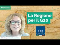 La Regione per il G20: intervista alla Dott.ssa Federica Matteoli, la FAO e il cambiamento climatico
