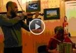 Eco della musica - Alta via dei parchi - al lago Scaffaiolo - Duo Timbuktu