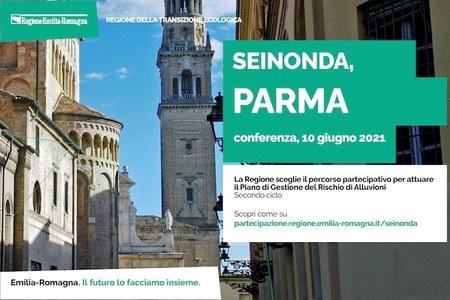 Videoconferenza Parma, 10  Giugno - SEINONDA 2021 - Piano di gestione rischio di alluvioni
