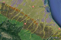 I suoli dell'Emilia-Romagna su Google Earth