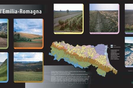Le terre dell'Emilia-Romagna