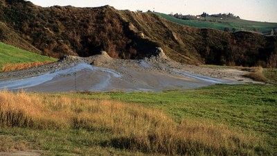 Fenomeni geologici di importanza storica: salse o vulcani di fango