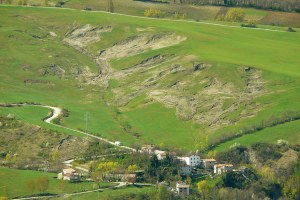 Le frane in Emilia-Romagna