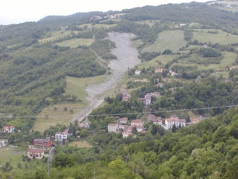 Gaggio Montano (BO), loc. Rocca Pitigliana.