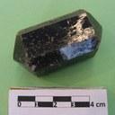 Vesuvianite, cristallo prismatico-tetragonale