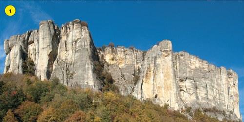 Le maestose pareti della Pietra di Bismantova