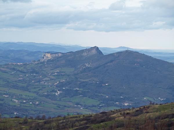Monte Pincio, Monte Perticara e Monte Aquilone