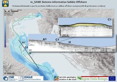 Rapporto tecnico relativo a  in_SAND, il Sistema informativo per la gestione dei depositi di sabbia sommersi utili al ripascimento costiero