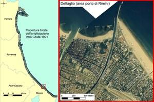 Il rilievo, realizzato nell'ambito della seconda campagna di monitoraggio della linea di riva regionale, è stato eseguito lungo la costa Adriatica dalla CGR. La quota media di volo è di 1.500 metri ed i fotogrammi originali cartacei (scala media 1:10.000) sono conservati presso ARPA-RER Direzione Tecnica.