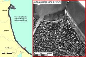 Il rilievo, effettuato dalla CGR, è stato eseguito lungo la costa Adriatica dalla Regione Emilia-Romagna con lo scopo di monitorare gli effetti prodotti dalla mareggiata verificatasi nei giorni 8 e 9 dicembre 1992.