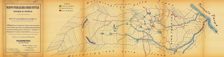 Planimetria Carobbio 1932