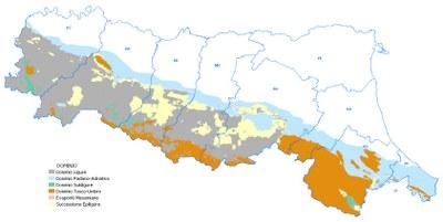 Figura 11 - Carta dei Domini Geologico-Strutturali