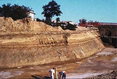 Figura 1. Parete di scavo in area di pianura
