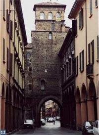 Torresotto di Porta San Vitale (cotto, selenite)