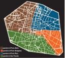 I quartieri nel XIII secolo