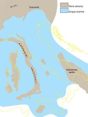 Pannello 1 - territorio italiano