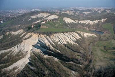 Paesaggio dei primi colli
