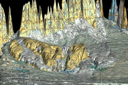 cartografia 3D immagine 3
