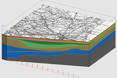 Modelli 3D successione Quaternaria nord Ravenna