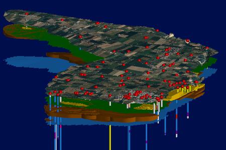 Castel Guelfo - Banche dati 3D