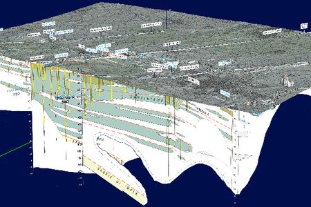 Foglio 201 - Cartografia 3D